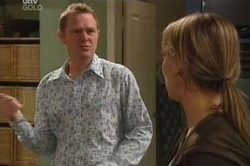 Max Hoyland, Steph Scully in Neighbours Episode 4621