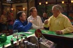 Karl Kennedy, Harold Bishop, Max Hoyland in Neighbours Episode 4623