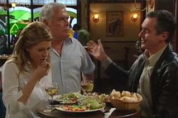 Izzy Hoyland, Lou Carpenter, Karl Kennedy in Neighbours Episode 4624