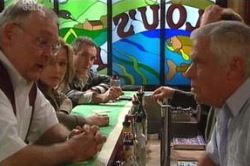 Harold Bishop, Steph Scully, Karl Kennedy, Lou Carpenter in Neighbours Episode 4624