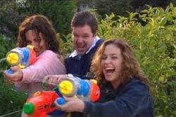 David Bishop, Liljana Bishop, Serena Bishop in Neighbours Episode 4627