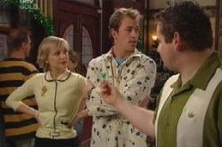 Sindi Watts, Stuart Parker, Toadie Rebecchi in Neighbours Episode 4628