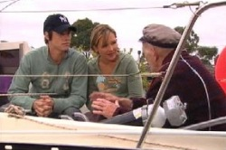 Jack Scully, Steph Scully, Charlie Cassidy in Neighbours Episode 4628