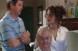 David Bishop, Harold Bishop, Liljana Bishop in Neighbours Episode 4629