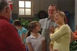 Harold Bishop, Summer Hoyland, Max Hoyland, Steph Scully in Neighbours Episode 4632