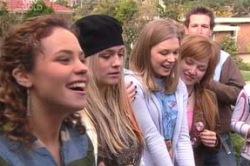 Serena Bishop, Sky Mangel, Lana Crawford, Georgina Harris in Neighbours Episode 4633
