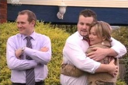 Max Hoyland, Toadie Rebecchi, Steph Scully in Neighbours Episode 4646