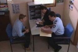 Alec Skinner, Boyd Hoyland, Allan Steiger in Neighbours Episode 4646