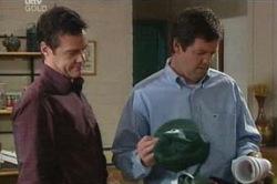 Paul Robinson, David Bishop in Neighbours Episode 4647