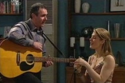 Karl Kennedy, Izzy Hoyland in Neighbours Episode 4647