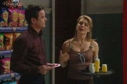 Paul Robinson, Izzy Hoyland in Neighbours Episode 4647