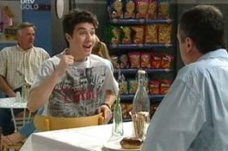 Stingray Timmins, Karl Kennedy in Neighbours Episode 4649
