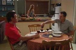 Izzy Hoyland, Karl Kennedy, Paul Robinson in Neighbours Episode 4655