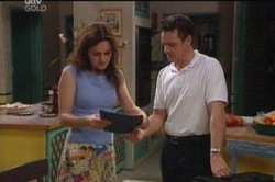 Liljana Bishop, Paul Robinson in Neighbours Episode 4657