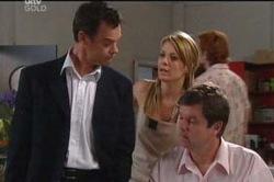 Paul Robinson, Izzy Hoyland, David Bishop in Neighbours Episode 4657