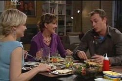 Sindi Watts, Susan Kennedy, Stuart Parker in Neighbours Episode 4658