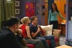Frank Romano, Sindi Watts, Stuart Parker, Carmella Cammeniti in Neighbours Episode 4671