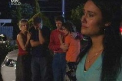 Sindi Watts, Stuart Parker, David Bishop, Liljana Bishop, Carmella Cammeniti in Neighbours Episode 4672