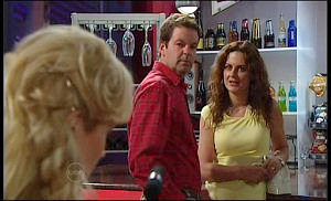 Annalise Hartman, David Bishop, Liljana Bishop in Neighbours Episode 4770