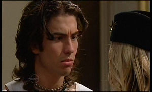 Dylan Timmins, Sky Mangel in Neighbours Episode 4770