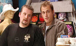 Toadie Rebecchi, Stuart Parker in Neighbours Episode 4807