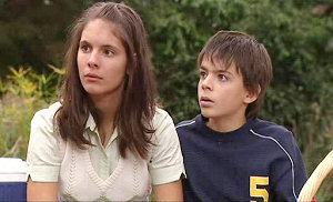Rachel Kinski, Zeke Kinski in Neighbours Episode 4810