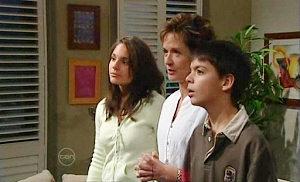 Rachel Kinski, Susan Kennedy, Zeke Kinski in Neighbours Episode 4819