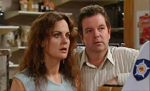 Liljana Bishop, David Bishop in Neighbours Episode 4824