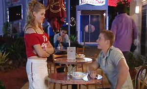Janae Timmins, Boyd Hoyland in Neighbours Episode 4830