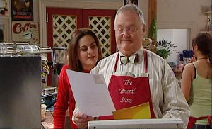 Liljana Bishop, Harold Bishop in Neighbours Episode 4832