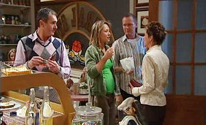 Karl Kennedy, Steph Scully, Max Hoyland, Susan Kennedy in Neighbours Episode 4835