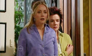 Janelle Timmins, Lyn Scully in Neighbours Episode 4841