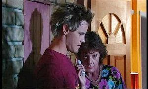 Ned Parker, Mishka Schneiderova in Neighbours Episode 4976