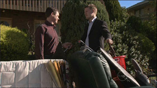Paul Robinson, Oliver Barnes in Neighbours Episode 5334