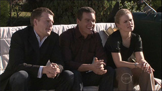 Oliver Barnes, Paul Robinson, Elle Robinson in Neighbours Episode 5334