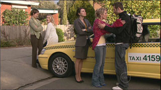 Susan Kennedy, Janae Timmins, Rosie Cammeniti, Pepper Steiger, Adam Rhodes in Neighbours Episode 5334