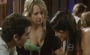 Marco Silvani, Steph Scully, Carmella Cammeniti in Neighbours Episode 5369