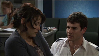 Rosie Cammeniti, Frazer Yeats in Neighbours Episode 5374