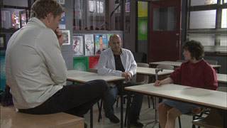 Steve Parker, Dan Fitzgerald, Bridget Parker in Neighbours Episode 5378