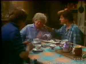 Scott Robinson, Mrs Forbes, Danny Ramsay in Neighbours Episode 0035