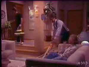 Paul Robinson, Roger Willis, Helen Daniels in Neighbours Episode 0035