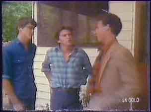 Scott Robinson, Danny Ramsay, Mr Fletcher in Neighbours Episode 0035