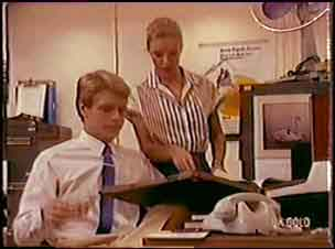 Greg Arnold, Marilyn Temple in Neighbours Episode 0036