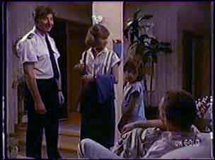 Nick Burman, Julie Robinson, Lucy Robinson, Jim Robinson in Neighbours Episode 0038