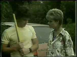 Paul Robinson, Daphne Lawrence in Neighbours Episode 0043