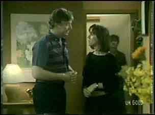 Nick Burman, Maria Ramsay, Danny Ramsay in Neighbours Episode 0043