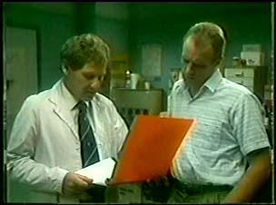 Jim Robinson, Vet in Neighbours Episode 0046