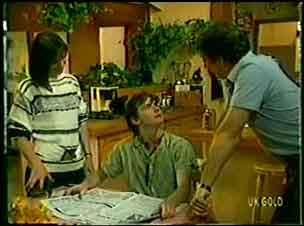 Maria Ramsay, Danny Ramsay, Nick Burman in Neighbours Episode 0048