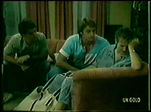 Paul Robinson, Shane Ramsay, Daphne Clarke in Neighbours Episode 0049