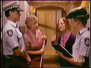 Police Officer, Edith Harris, Miss Logan, Police Officer in Neighbours Episode 0050